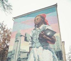 Стрит-арт на улицах столицы