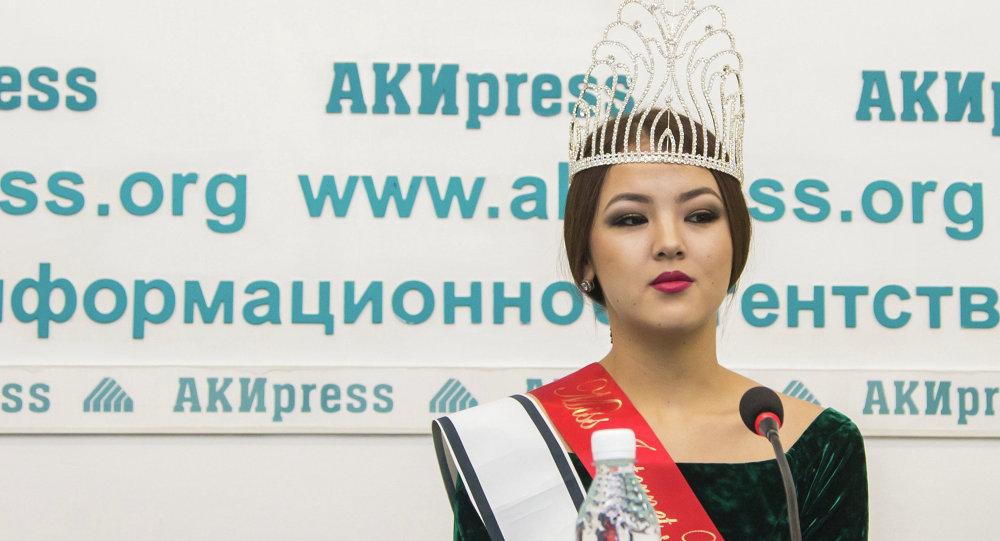 Айкол Аликжанова будет участвовать в конкурсе Мисс мира-2014