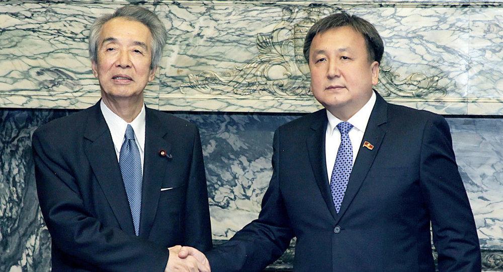 Асылбек Жээнбеков в рамках официального визита в Японию встретился со спикером Палаты представителей парламента Японии Бунмэй Ибуки.
