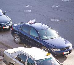 Бишкек шаарындагы такси. Архив