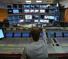 Телевидение. Архивное фото