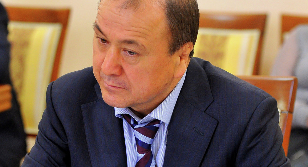 Министр внутренних дел КР Мелис Турганбаев
