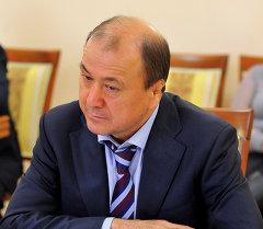 ИИМ башчысы Мелис Турганбаев. Архив