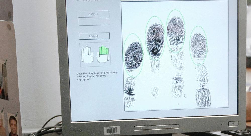 Представление первой биометрической визы в посольстве Великобритании в Москве
