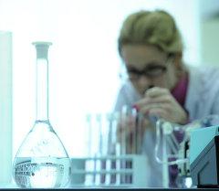 Биохимическая лаборатория. Архивное фото