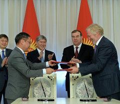 Между правительствами Кыргызстана и России подписано соглашение о Кыргызско-Российском фонде развития.