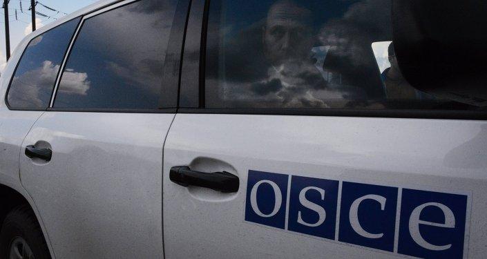 Освобожденные военные наблюдатели ОБСЕ прибыли в Донецк