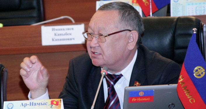 Депутат Жогорку Кенеша Каныбек Осмоналиев