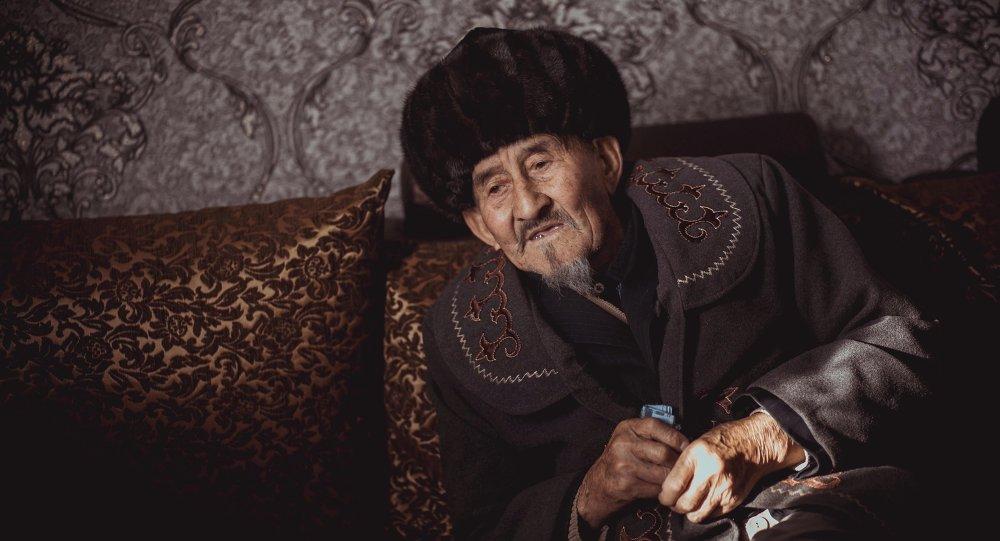 Пенсионер Кыдыров Мамбетжума