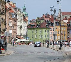 Варшава шаары. Архивдик сүрөт
