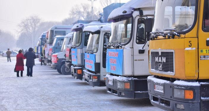 Пострадавшим от землетрясения жителям сел Иссык-Кульской области отправили гуманитарный груз