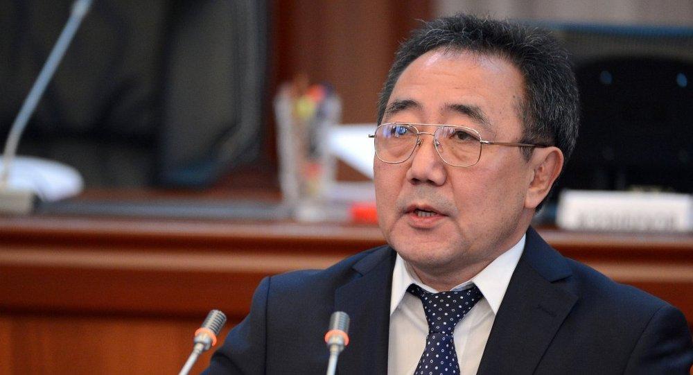 Министр социального развития Кыргызстана Кудайберген Базарбаев