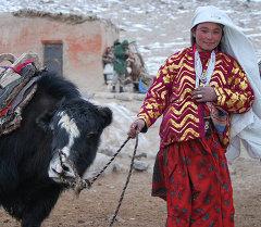 Памир кыргыз кызы. Архив