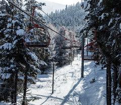 Каракол тоо лыжа базасы. Архив