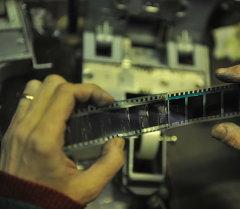 Кинопленка. Архивное фото