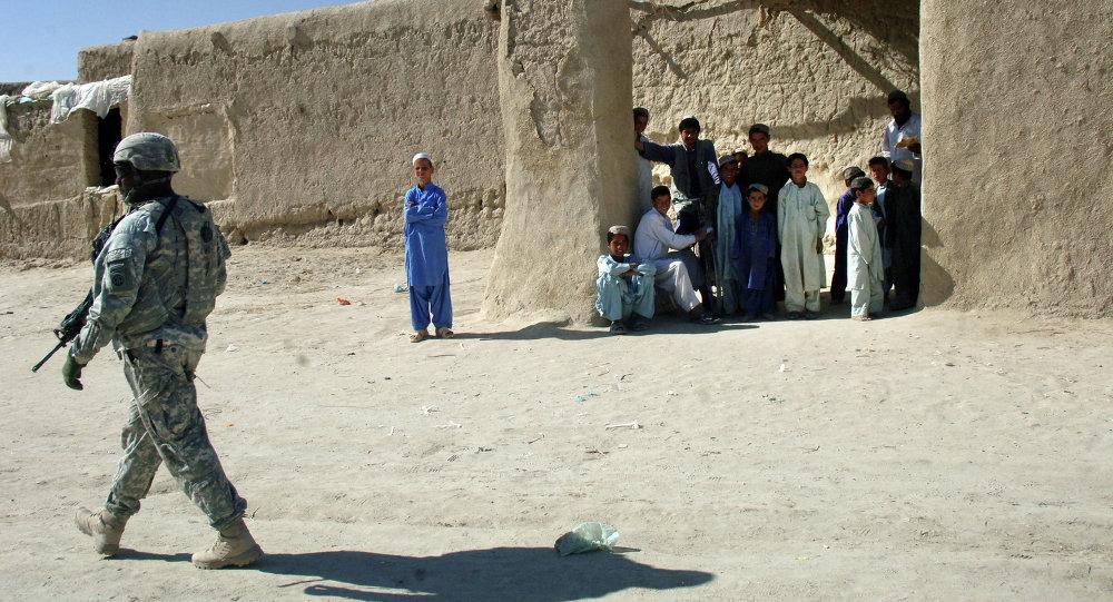 Сержант армии США в Афганистане