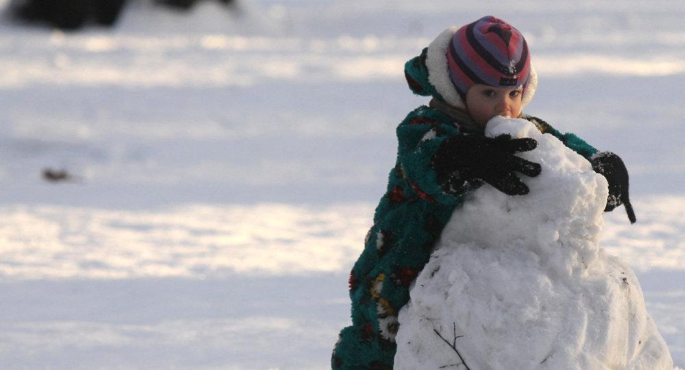 Зимний отдых горожан