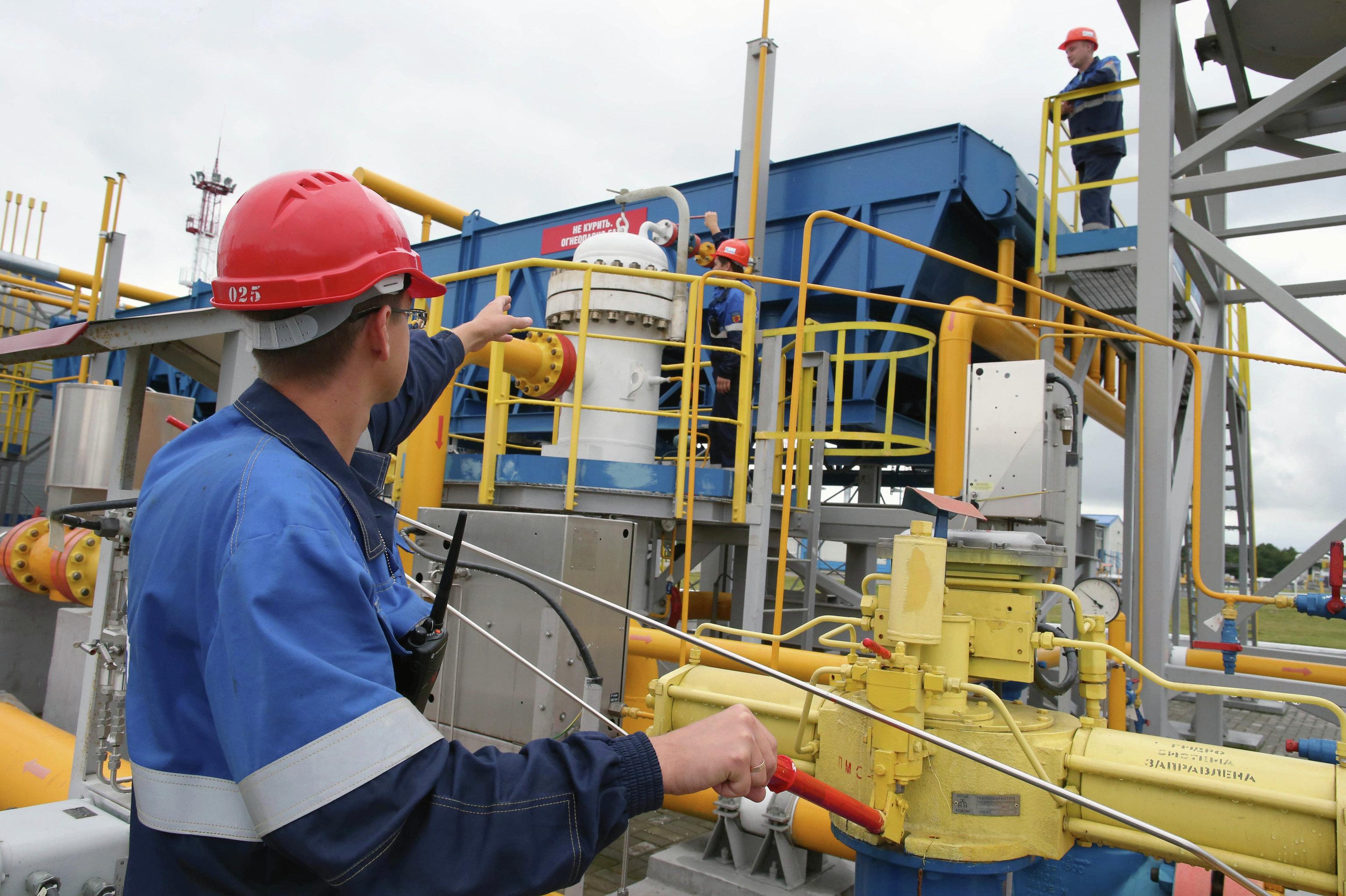 Новое хранилище газа в Калининградской области