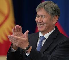 Рабочий визит В.Путина в Киргизию