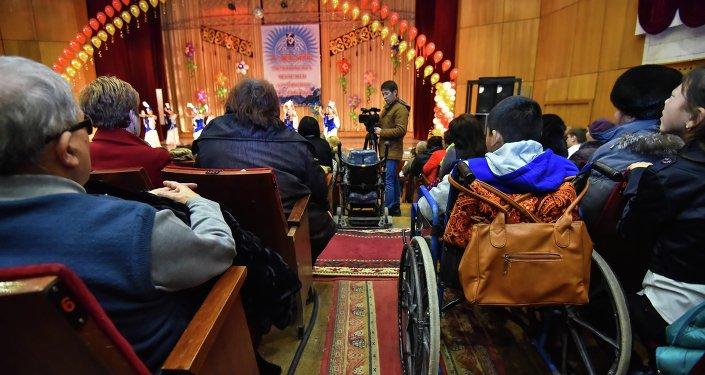 Благотворительное мероприятие для детей-инвалидов