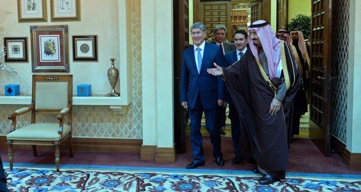 Президент Алмазбек Атамбаев встретился с Наследным Принцем Саудовской Аравии Салманом бин Абдель Азиз Аль Саудом
