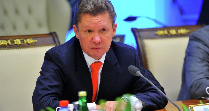 Глава ОАО «Газпром» Алексей Миллер