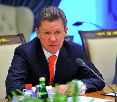 Джоомарт Оторбаев и Алексей Миллер обсудили вопросы сотрудничества в ТЭК