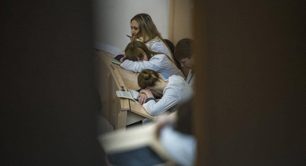 Обучение студентов в Омской медицинской академии