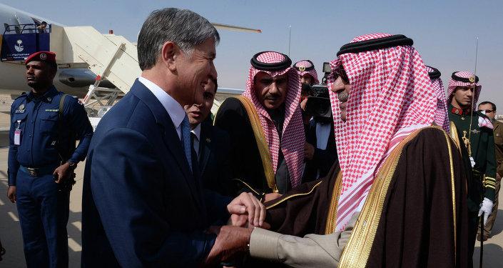 Президент Кыргызской Республики Алмазбек Атамбаев прибыл с официальным визитом в Королевство Саудовская Аравия.
