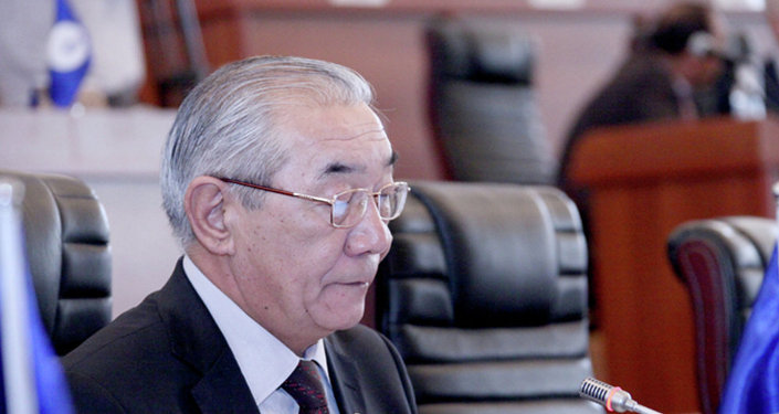 Депутат Жогорку Кенеш Курманбек Осмонов