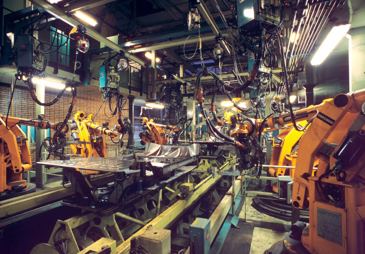 Цех Московского автомобильного завода