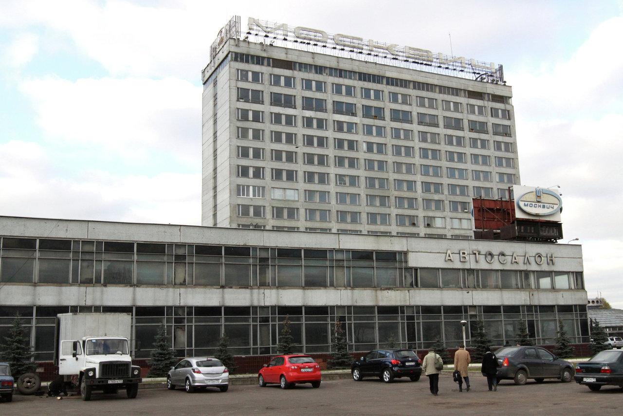 Реконструкция промышленного узла на территории бывшего завода Москвич