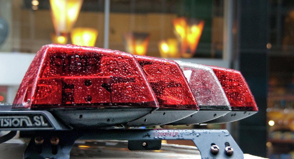 Полицейские проблесковые маячки