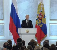 Послание Путина Федеральному собранию: Украина, санкции, рубль и налоги_СПУТНИК