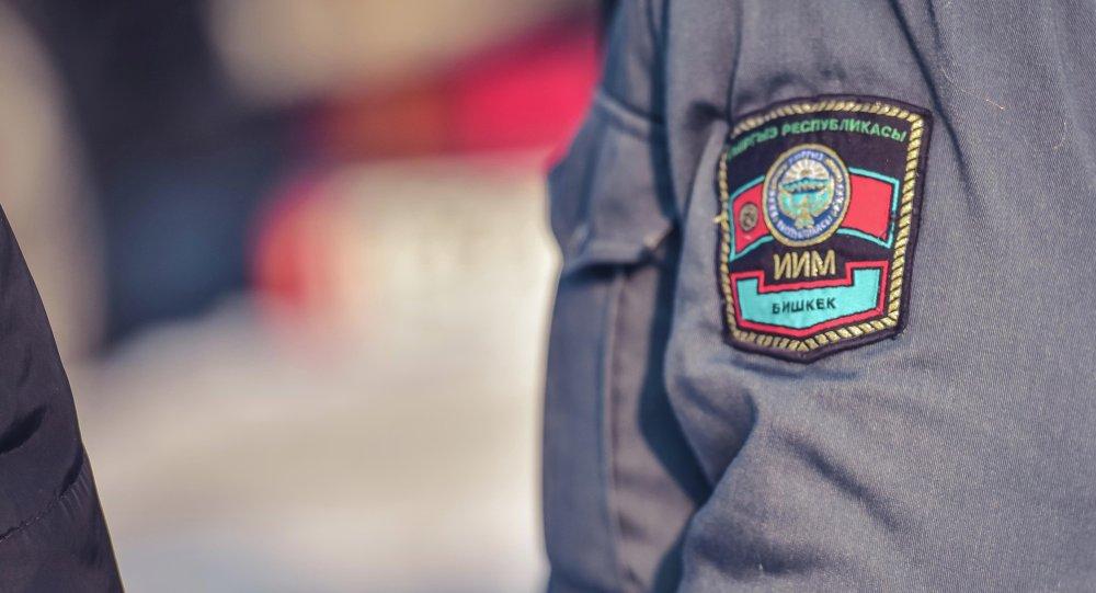 Шеврон сотрудника милиции