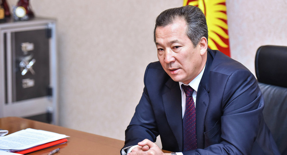 Омбудсмен Кыргызской Республики Бактыбек Аманбаев