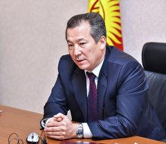 Кыргызстандын акыйкатчысы Бактыбек Аманбаев. Архив
