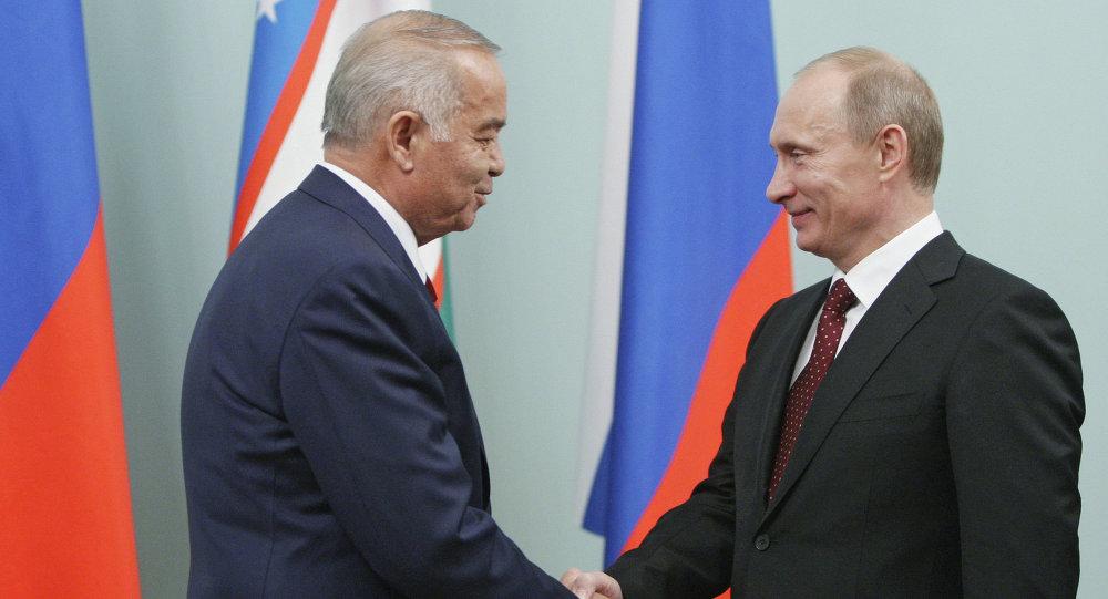 Премьер-министр РФ Владимир Путин встретился с Исламом Каримовым