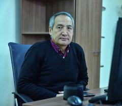 Президент Ассоциации авиационных предприятий Таалай Окенов