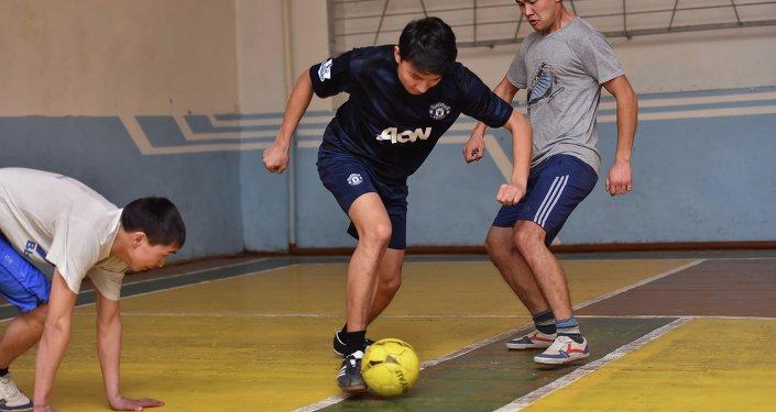 Футбол в Бишкеке