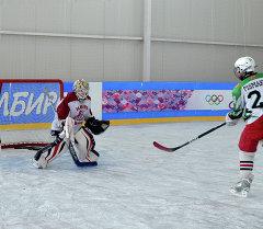 Тренировка детской сборной команды КР по хоккею