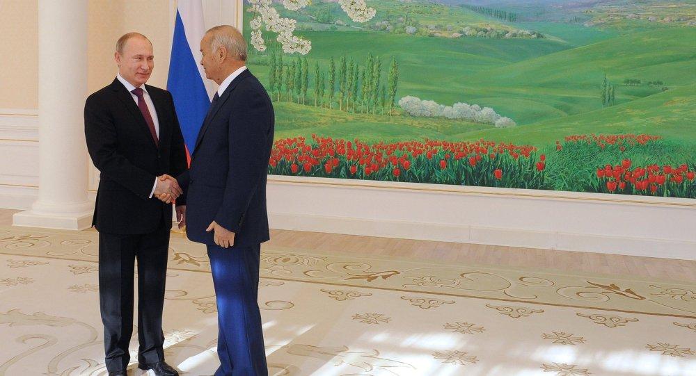 Официальный визит В.Путина в Республику Узбекистан
