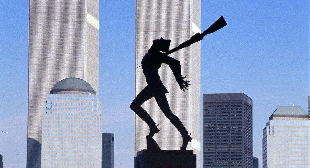 Памятник жертвам Катыни в Нью-Йорке