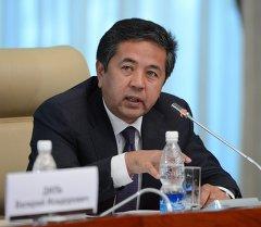 биринчи вице-премьер Тайырбек Сарпашев. Архив