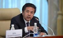 Бывший вице-премьер-министр Тайырбек Сарпашев. Архивное фото