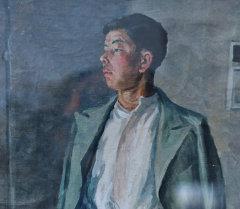 Портрет Алыкула Осмонова, художник Гапар Айтиев