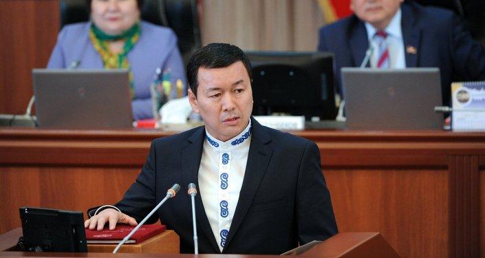 Экс-министр труда, миграции и молодежи Алиясбек Алымкулов