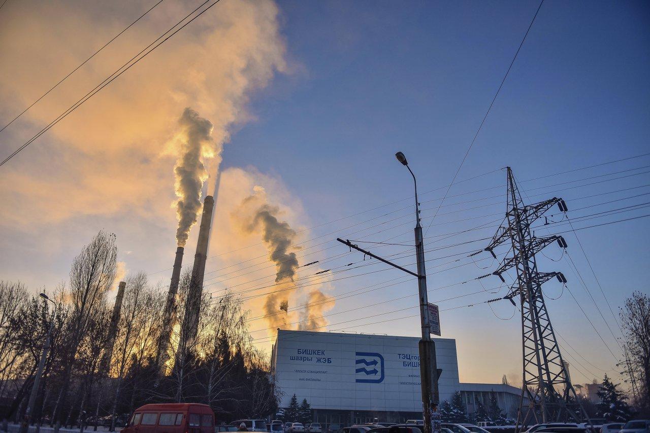 ТЭЦ Бишкека работает круглосуточно.