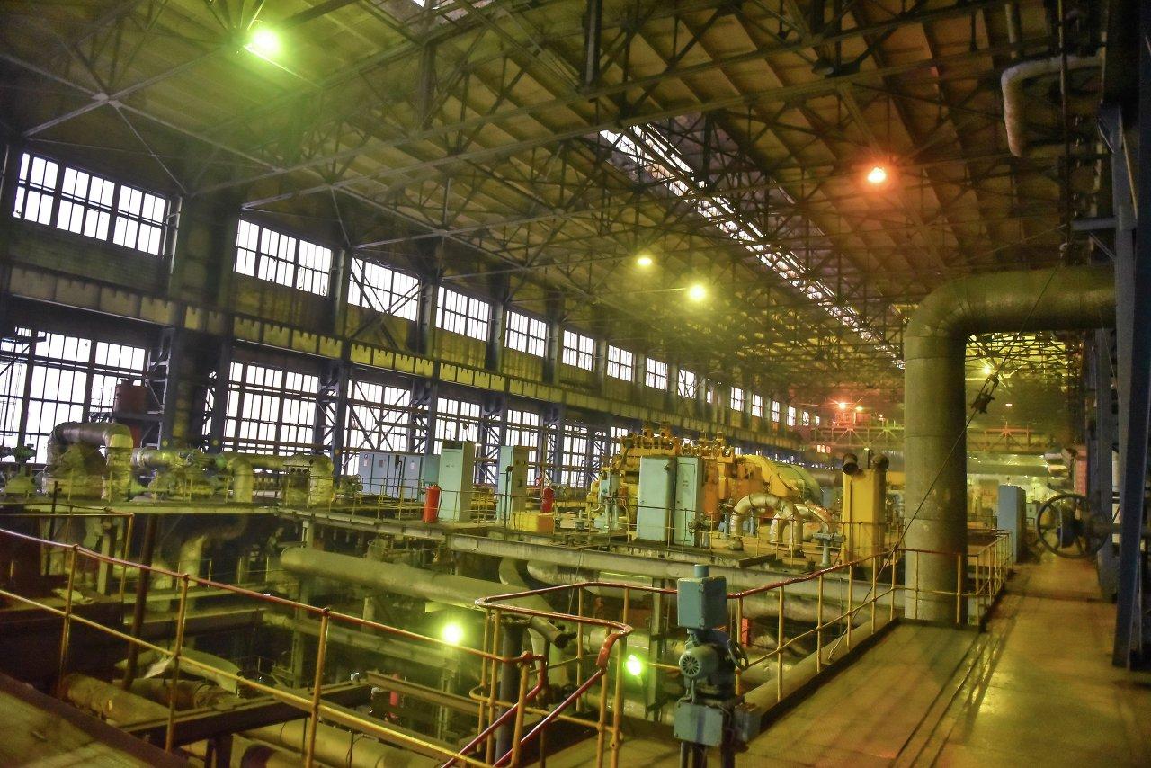 Так выглядит внутренняя система ТЭЦ Бишкека.