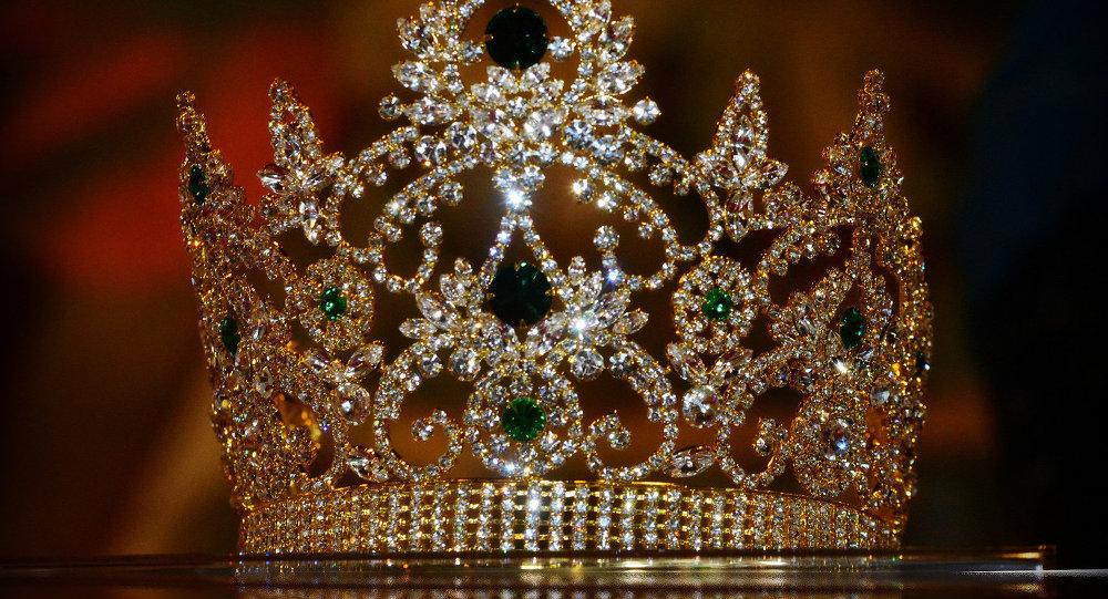 Корона конкурса Miss Guyana World 2014